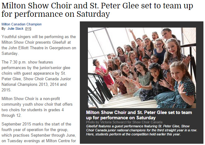 St. Peter Glee